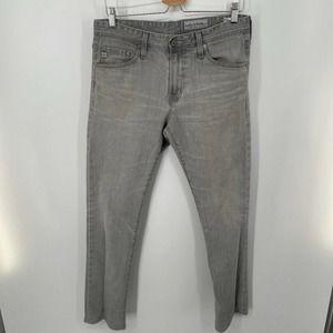 AG  Everett Slim Straight Jeans Gray 31x32